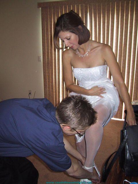 Развратные невесты на порно фото 24 фотография